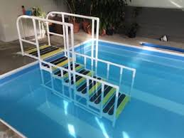 Above Ground Pool Ladder Deck Attachment by Pool Ladders Pool Steps Above Ground Pool Ladders On Sale