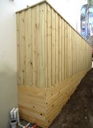 100 Building A Paling Fence Lap And Cap With Horizontal Screening Over