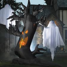 Halloween Blow Up Decorations by Giant Inflatable Spooky Tree The Green Head