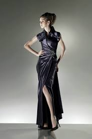 floor length ruched with short sleeves natural black modest