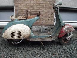 Antique Vespa Scooters Restoration Of Vintage Motor
