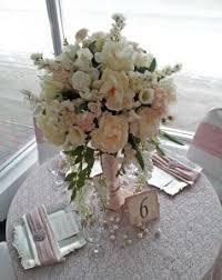 Vintage Garden Pink Wedding Reception Inspiration Calgary Centerpiece