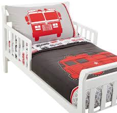 100 Toddler Truck Bedding Carters 4 Piece Bed Set Fire