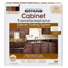Rustoleum Cabinet Painting Kit by Shop Rust Oleum Cabinet Transformations Dark Base Satin Cabinet
