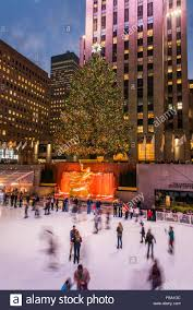 Rockefeller Plaza Christmas Tree Address by Rockefeller Christmas Tree Stock Photos U0026 Rockefeller Christmas