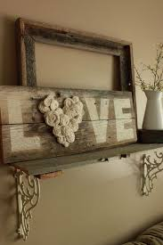 DIY Fence Wood LOVE Sign