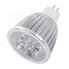 mr16 5w 300lm 3500k 5 led warm white spotlight bulb 12v free