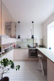 Narrow Kitchen Design Ideas by Kitchen Design Ideas 14 Kitchens That Make The Most Of A Small