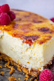 crème brûlée cheesecake the food charlatan creme brulee