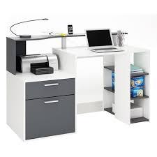 bureaux avec rangement bureau august avec rangements pas cher à prix auchan
