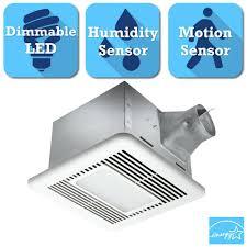 Humidity Sensing Bathroom Fan Wall Mount by Utilitech Humidity Sensing Bathroom Fan Shop 2 White Bathroom Fan