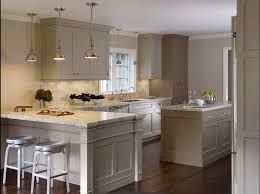 unique grey kitchen colors pendants with grey cabinets for the