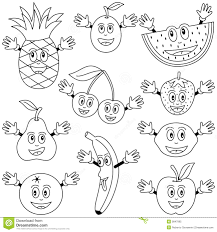 Quickly Fruits Coloring Pages Fruit