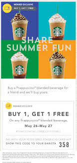Pinned May 26th: Second Frappuccino Free With Your Card At ... Celebrate Summer With Our Movie Tshirt Bogo Sale Use Star Code Starbucks How To Redeem Your Rewards Starbucksstorecom Promo Code Wwwcarrentalscom Coupon Shayana Shop Cadeau Fete Grand Mere Original Gnc Coupon Free Shipping My Genie Inc Doki Get Free Sakura Coffee Blend Home Depot August Codes Blog One Of My Customers Just Got A Drink Using This Scrap Shoots Down Viral Rumor That Its Giving Away Free Promo 2019 50 Working In I Coffee Crafts For Kids Paper Plates