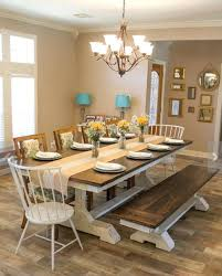Diy Dining Room Table Ideas Interior Style Pine Wood Extending For Farmhouse From