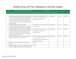 Strategic Action Plan Sample Management Report