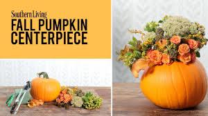Fried Pumpkin Flowers Food by Smashing Floral Pumpkin Centerpiece Southern Living
