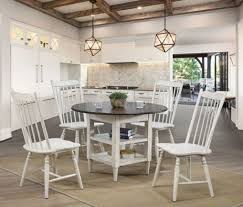 Ann Lee 5Pc Round Dining Table Set CM3754RT In Antique White Cm3556 Round Top Solid Wood With Mirror Ding Table Set Espresso Homy Living Merced Natural Wood Finish 5 Piece East West Fniture Antique Pedestal Plainville Microfiber Seat Chairs Charrell Homey Design Hd8089 5pc Brnan Single Barzini And Black Leatherette Chair Coaster 105061 Circular Room At Hotel Hershey Herbaugesacorg Brera Round Ding Table Nottingham Rustic Solid Paula Deen Home W 4 Splat Back Modern And Cozy Elegant Sets