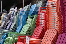 Attractive Colored Resin Adirondack Chairs - Modern Design ...
