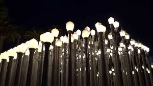 Los Angeles California LACMA Urban Light HD 2014