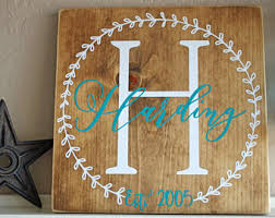 Personalized Kitchen Sign Wedding Gifts
