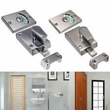 edelstahl badezimmer wc tür zusatzschloss toilettenriegel
