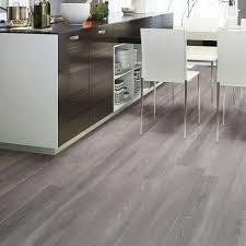 Gray Laminate Flooring High Gloss Dark