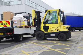 100 Truck Tracker Naval Base Automates Fleet Control With Hyster Logistics