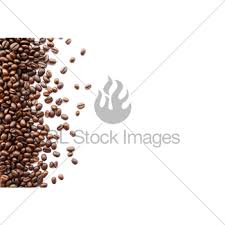 Coffee Beans At Border