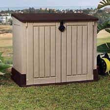 Rubbermaid 7x7 Storage Shed by Used Storage Shed Ebay