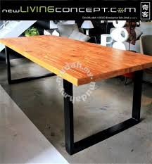 Solid Pine Wood Dining Table