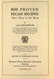 1925 Lemon Sponge Cake From 800 Proved Pecan Recipes