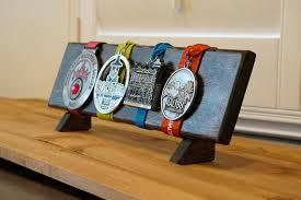 Wood Medal Display Stand