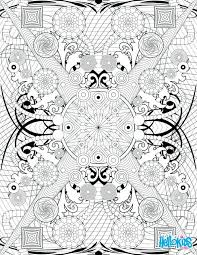 Free Printable Coloring Pages For Adults Pinterest Online Zentangle Rosette Intricate Patterns Page