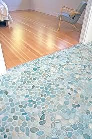 Mosaic Tile Floor Great Indoor Bathroom Stone Pebble Series Throughout Tiles