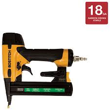 shop bostitch 1 5 in 18 gauge pneumatic stapler at lowes com
