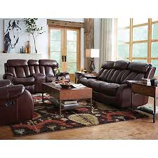 Art Van Leather Living Room Sets by Bronson Collection Recliner Sofas Living Rooms Art Van