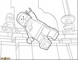Magnificent Lego Movie Coloring Pages With The And