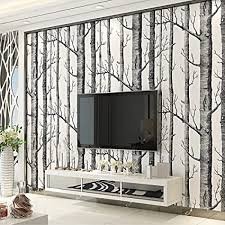 xiyunhan 3d tapete minimalistische schwarz und weiß woods