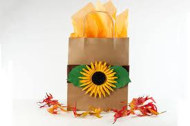 Sunflower Bath Gift Set by Sunflower Kraft Paper Gift Bag