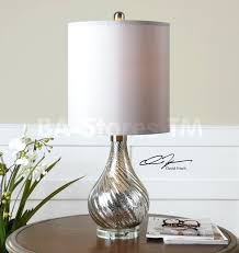 Table Lamps ~ Silver Mercury Glass Table Lamp With Off White Shade ... Table Lamps Pottery Barn Lamp Shades Australia Decor Look Alikes Discontinued Chic Silk Tapered Drum Shade Au With Large For Andmedia Nl Id White Sleeper Sofa On Dark Pergo Replacement Sconce Luckily Linen 100 Mica Floor Coupe Arch Andi Mercury Glass Burlap