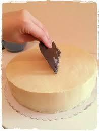 eine torte fondant tauglich machen ganache rezept