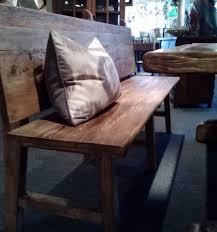 We Think This Bench With A Back Would Look Great Reclaimed Wood Buffet Or Sideboard And The Studio Has Many Different Styles To Offer