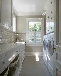 best colors for laundry room laundry room traditional with tile
