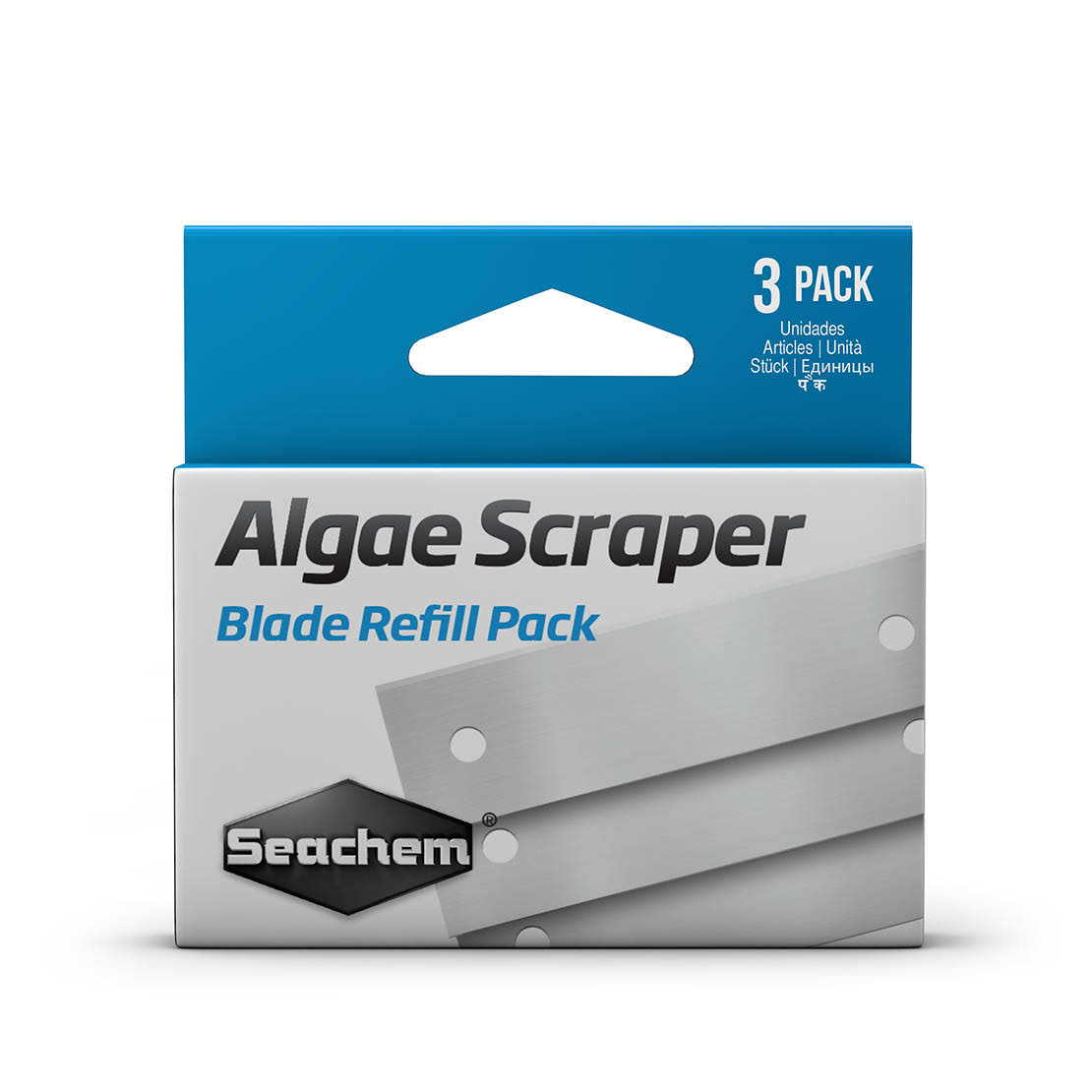 Seachem Algae Scraper Replacement Blades 3 Pack