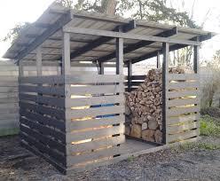modern firewood shed black fire pinterest firewood modern