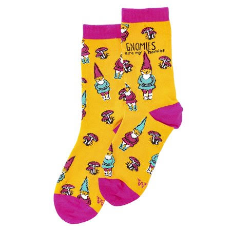 Wit! Ladies Socks Gnome