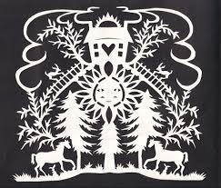 Scherenschnitte The Art of Papercutting Peggy McClard Antiques
