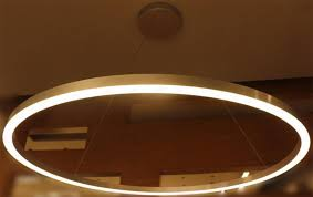 Large Ring LED Suspended Pendant Light Chandelier Lamp Ceiling FixtureLarge Round Led Lights Surface MountedLarge Hanging