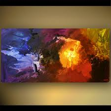 abstract painting colorful modern abstract painting 5464